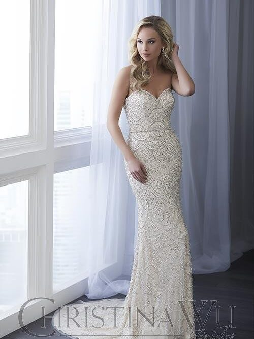 Beaded, Lace, Fitted
