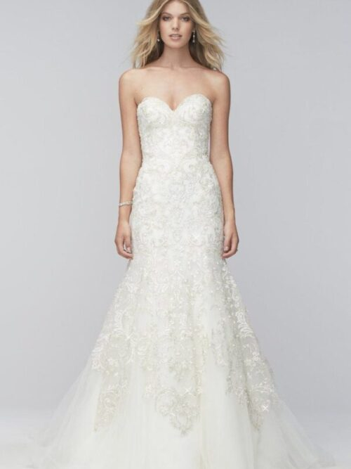 fit flare wedding dress