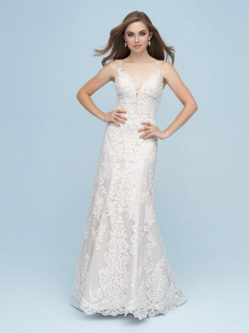 mikado mermaid wedding dress