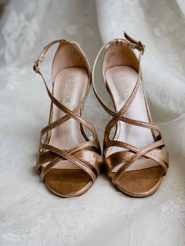 jolie shoe copper wedding shoe