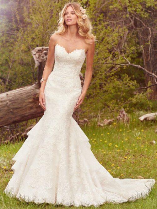 Lace Mermaid Bridal Dress
