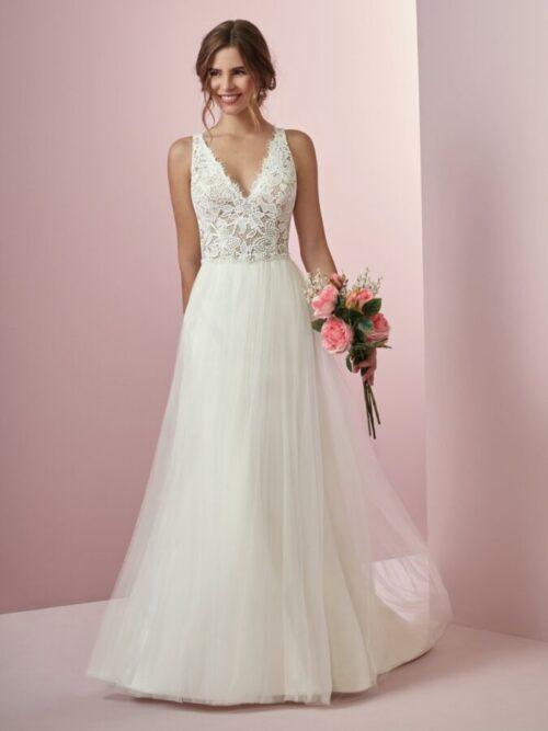 Boho A-Line Wedding Dress