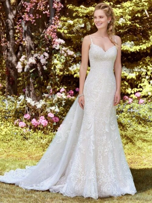 Fit-and-Flare Wedding Dress