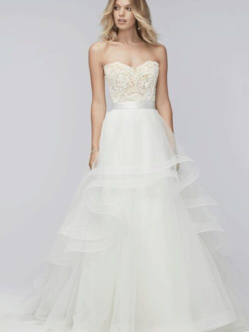 tulle skirt bridal separate