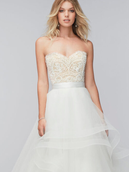 lace bodice wedding separate