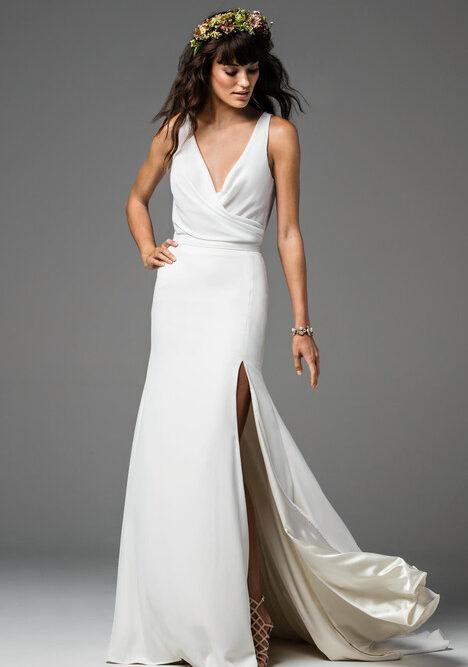 georgette bodysuit wedding separate
