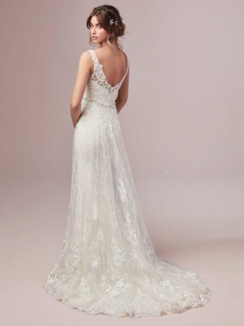 Lace Sheath Wedding Gown