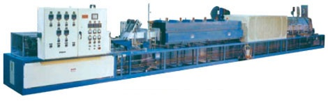 high temperature pusher furnace