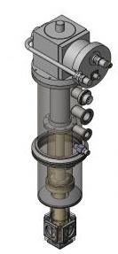 Sample-In-Vacuum-Cryostat