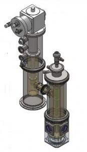 Sample in Vapor Cryostat