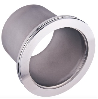 ISO flanges and fittings for high vacuum