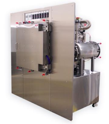 Heating Chamber with Vacuum