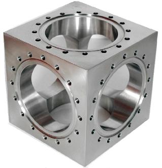 Conflat Vacuum Cube Cross