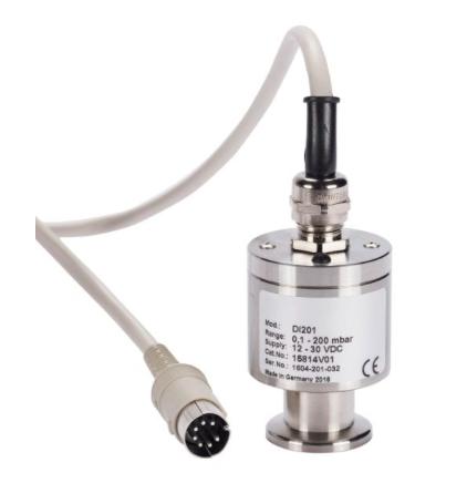 Linear pressure vacuum gauge sensors