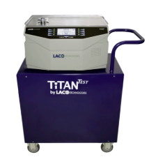 Mobile Cart for Helium Leak Detector