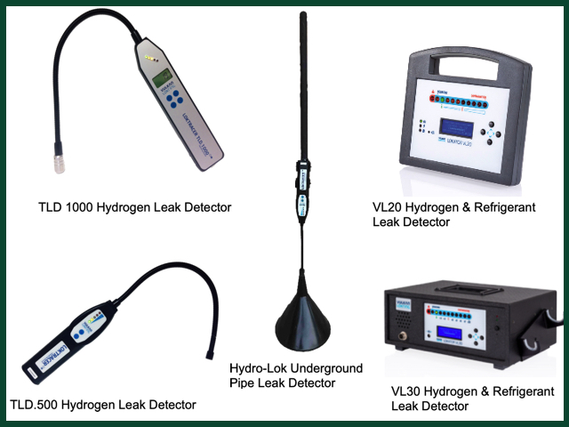 Hydrogen Leak Detection