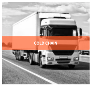 Sensors provide temperature, movement and humidity of transport trucks and shipments