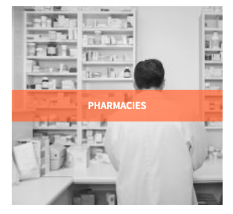 Pharmacy Drug Storage record temperature humidity and motion