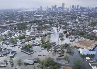 Hurricane Katrina in New Orleans, USA Today