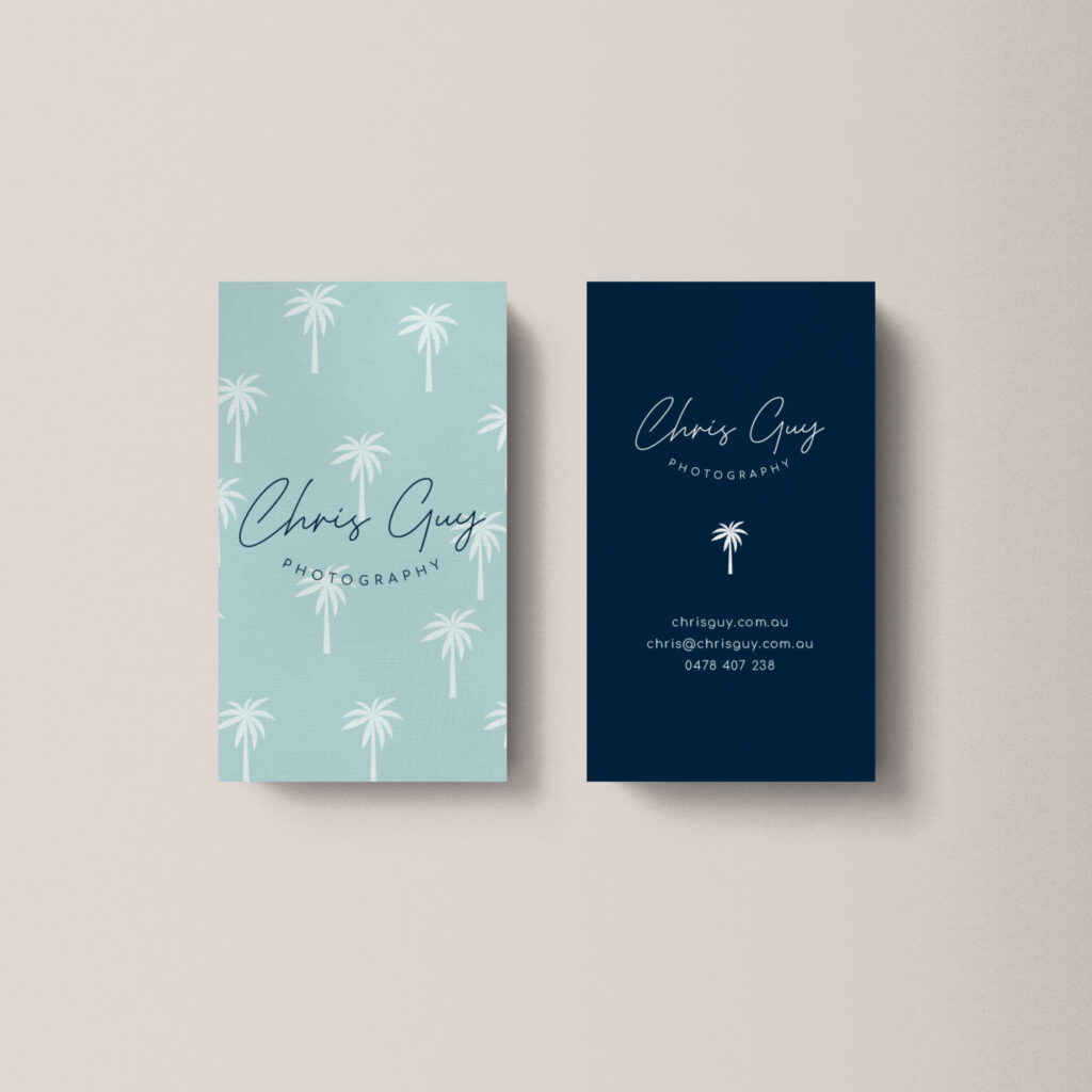 Chris Guy Business Cards