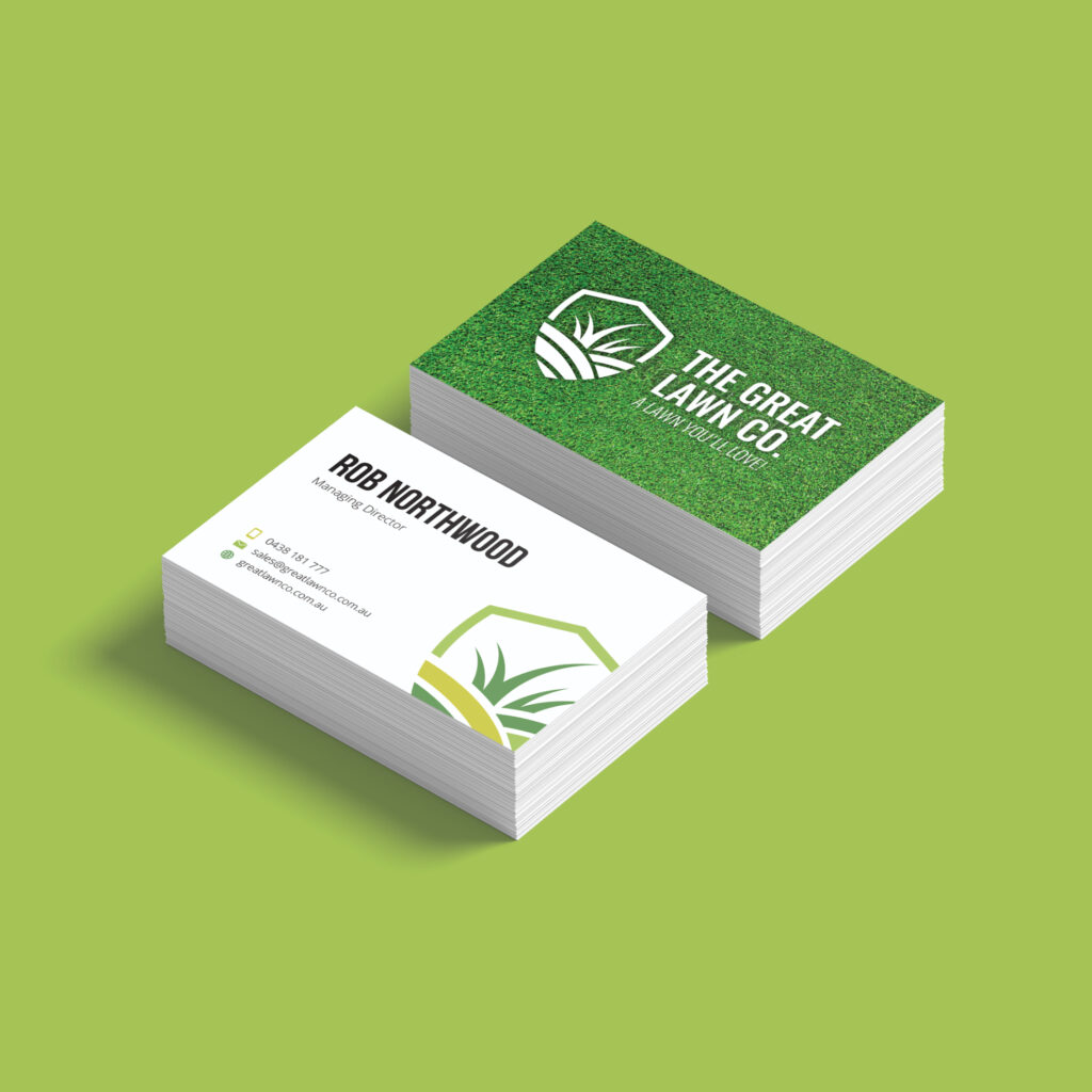 The Great Lawn Co Business Cards