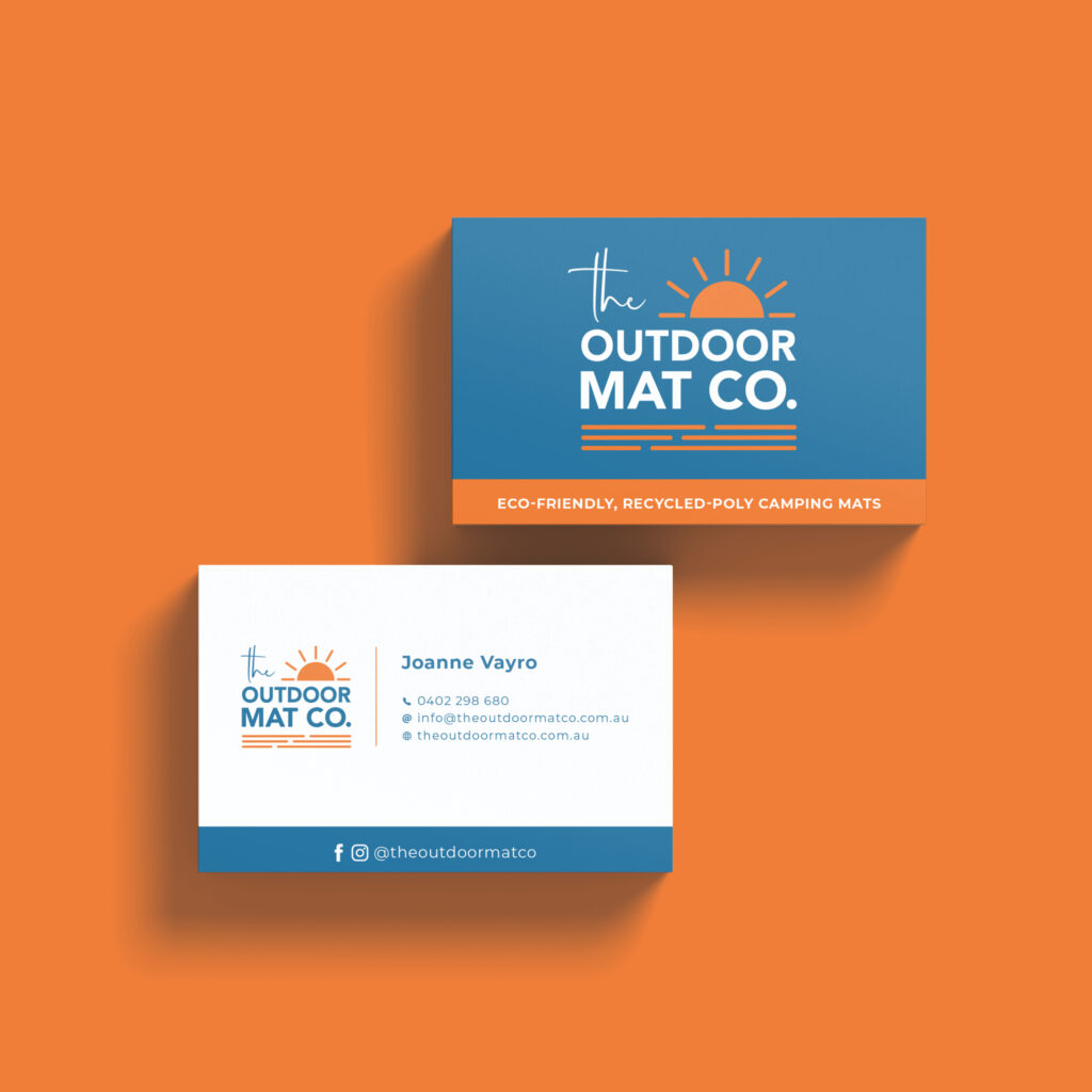 The Outdoor Mat Co. Business Cards