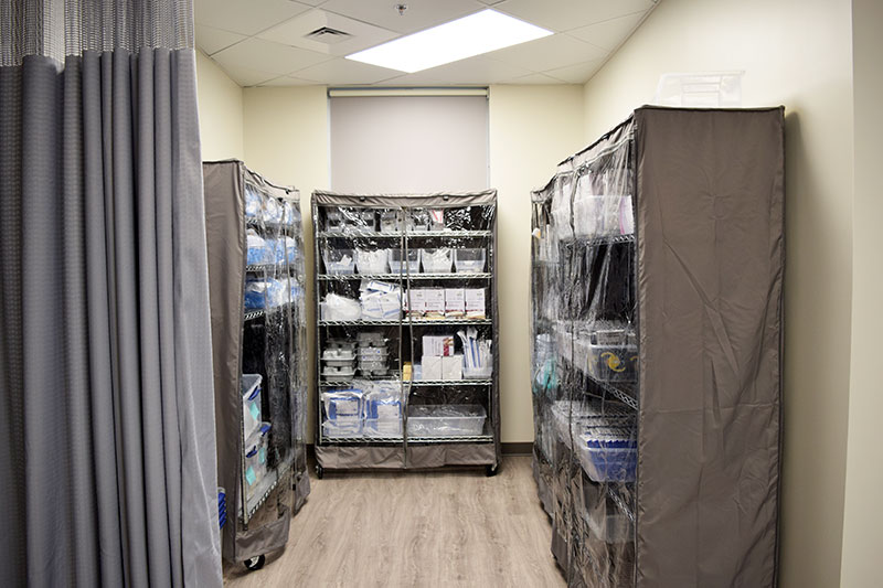 Metrolina Eye - Supply Room
