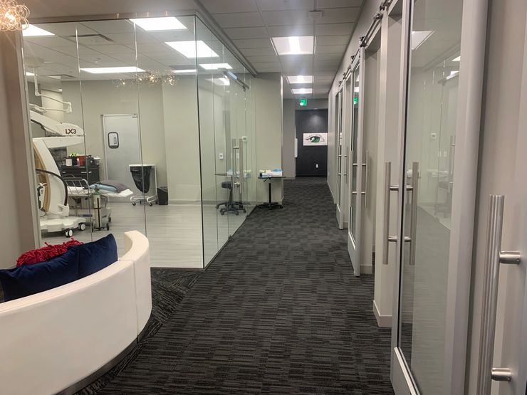ophthalmology office based surgery suite