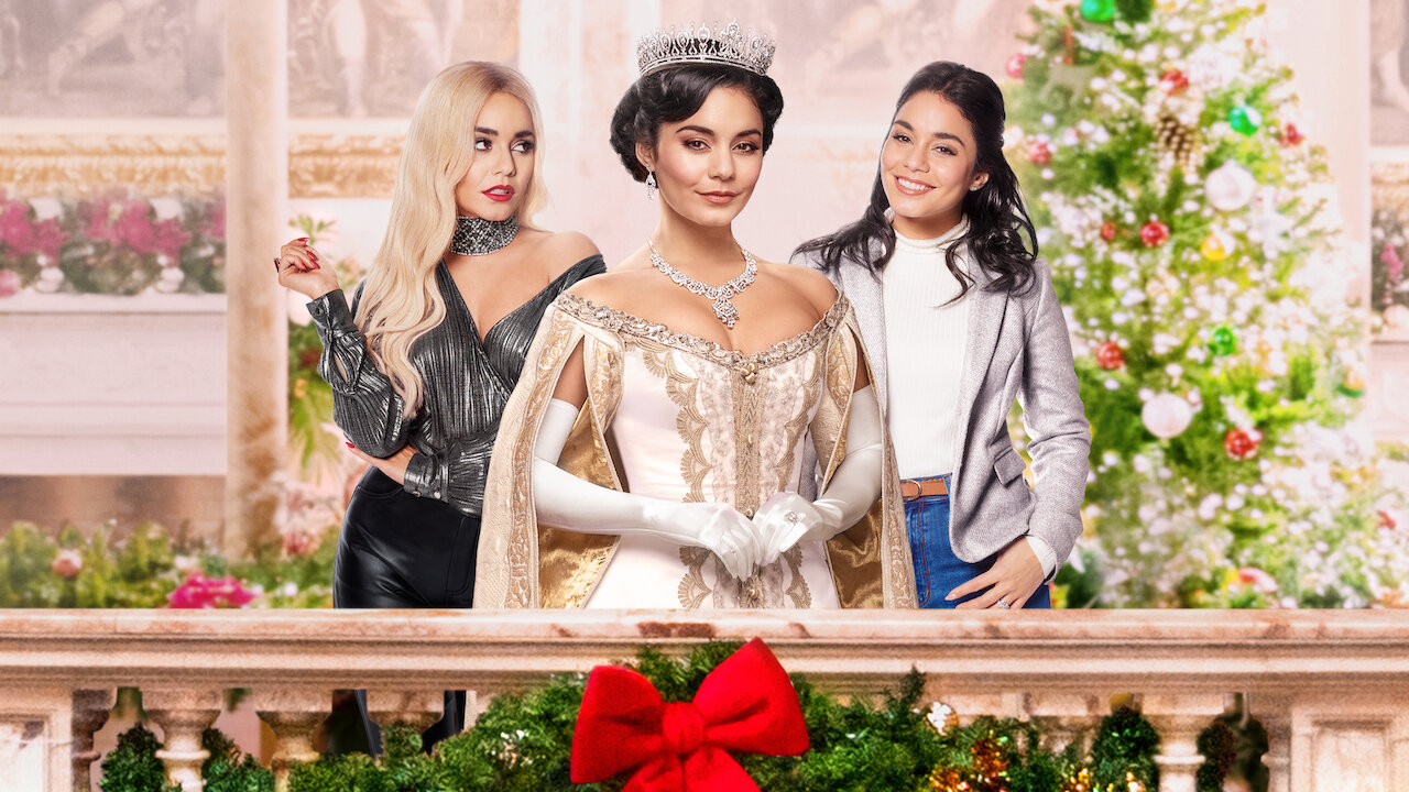"""Vanessa Hudgens Talks """"The Princess Switch: Switched Again"""""""