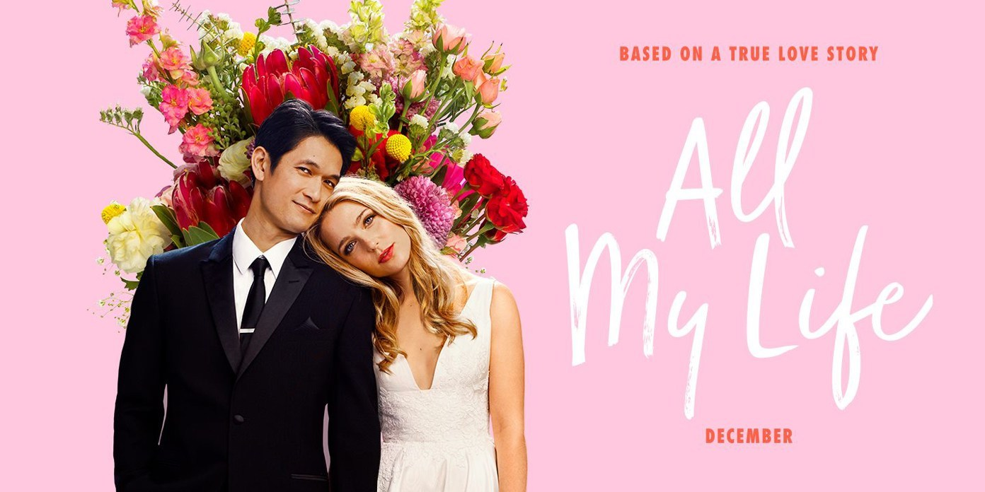 "Jessica Rothe and Harry Shum Jr. Talk About Their Chemistry in ""All My Life"""