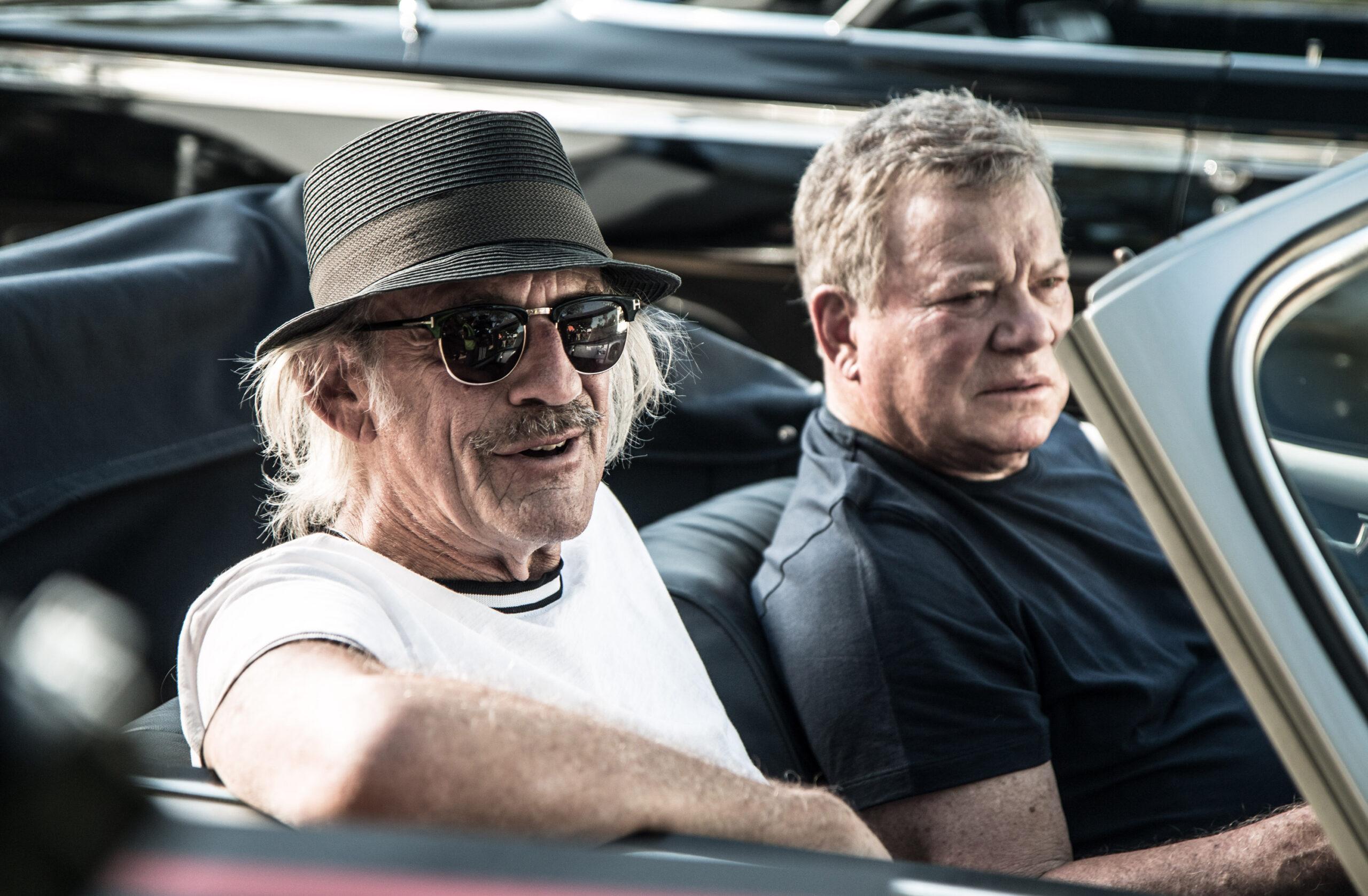 """Senior Moment"" Interviews with William Shatner, Director Giorgio Serafini"