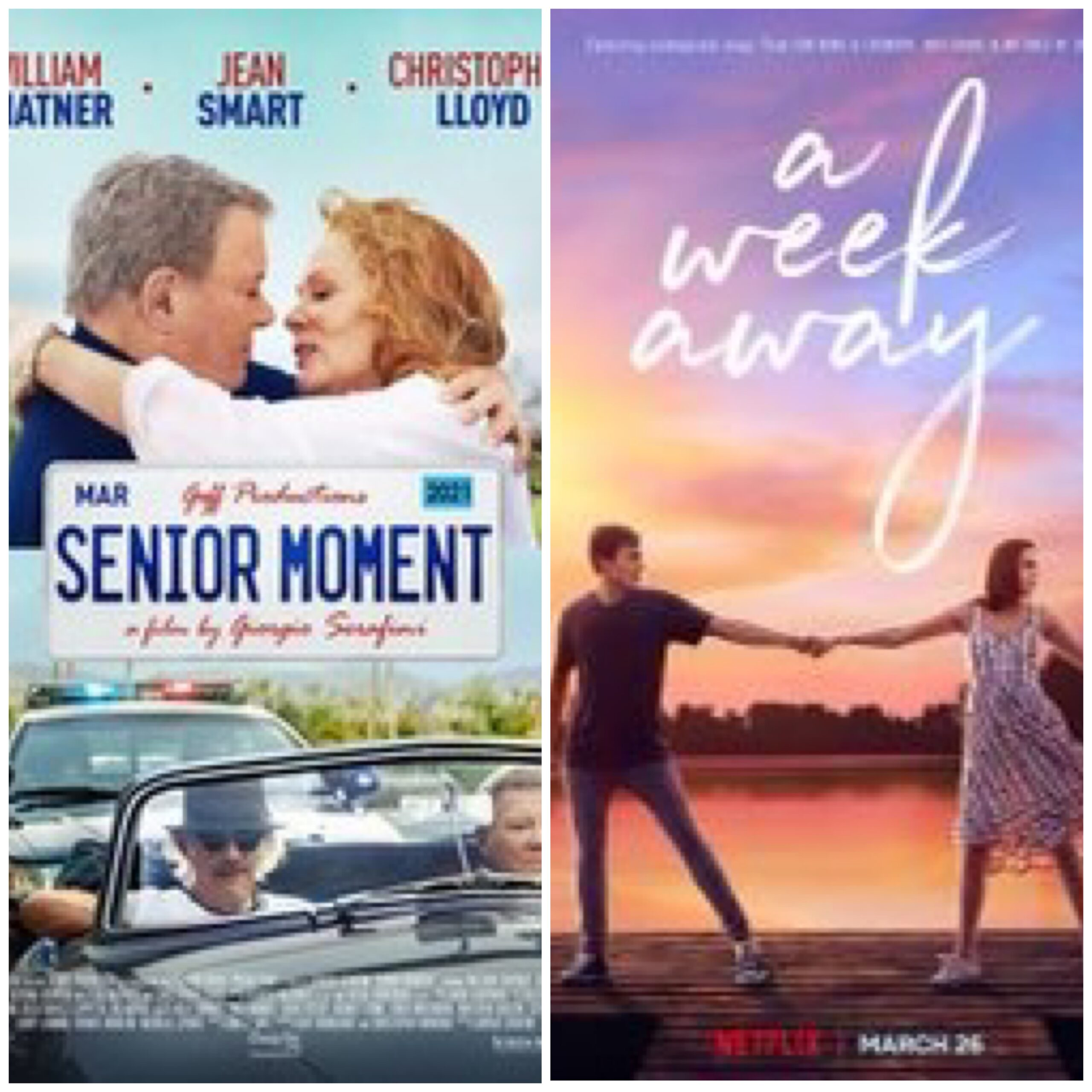 """Senior Moment"" & ""A Week Away"" Movie Reviews"