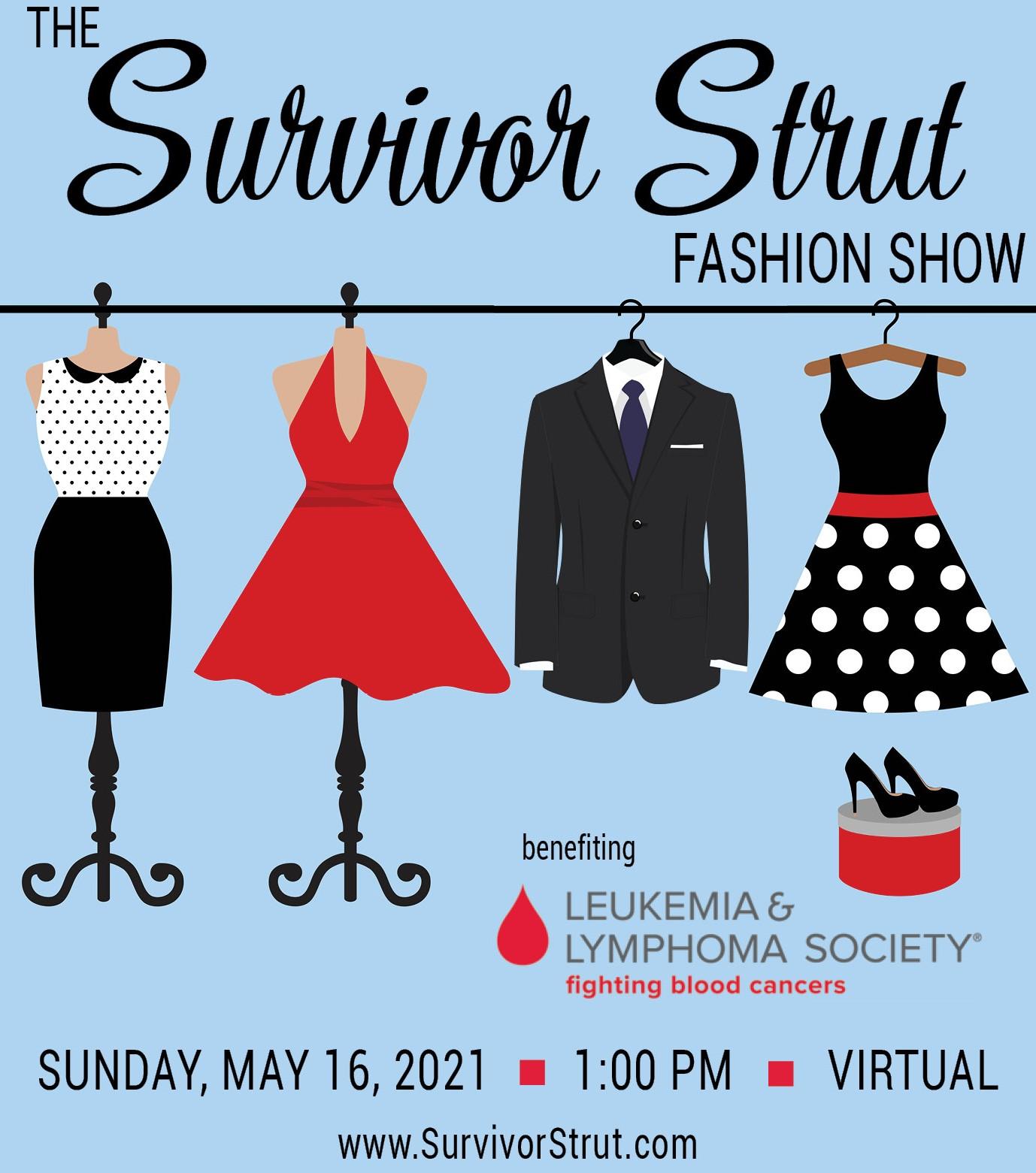 SURVIVOR STRUT:  Fun Event to Help End Blood Cancer for Good