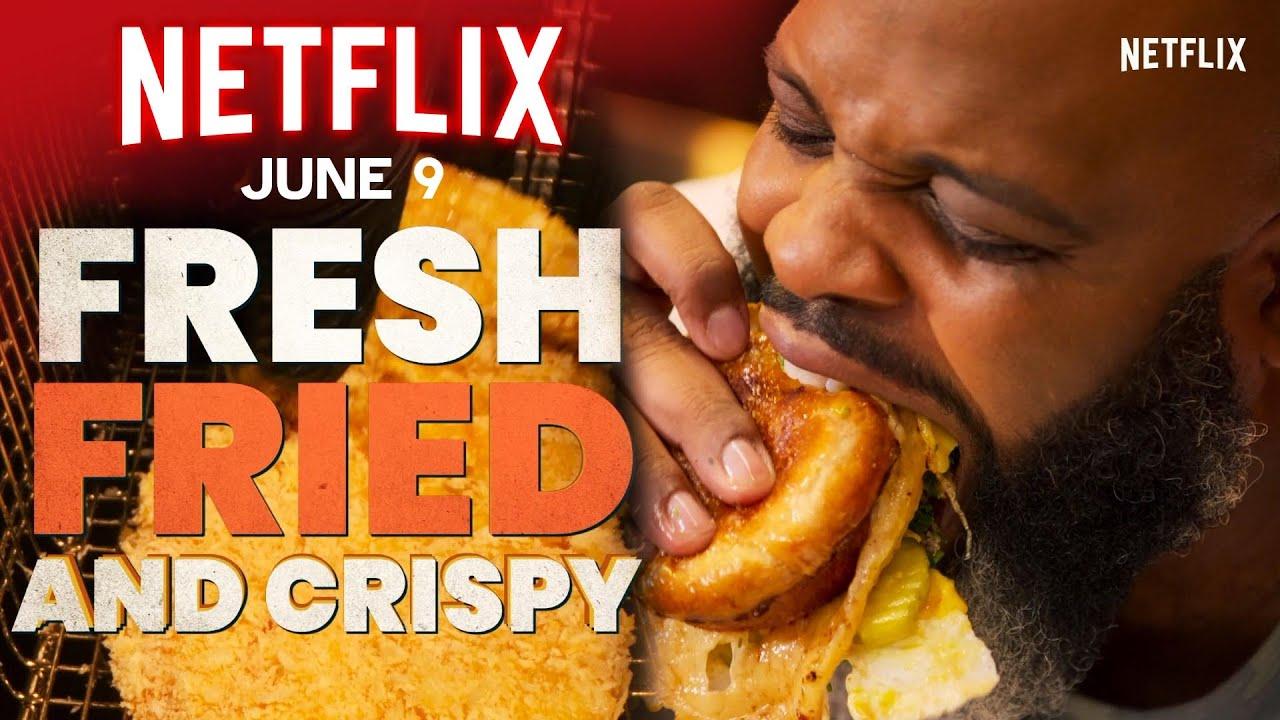 """Fresh, Fried & Crispy"" with Daym Drops"