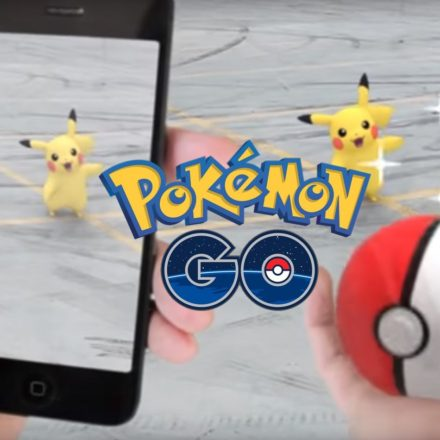 Pokémon Go screen