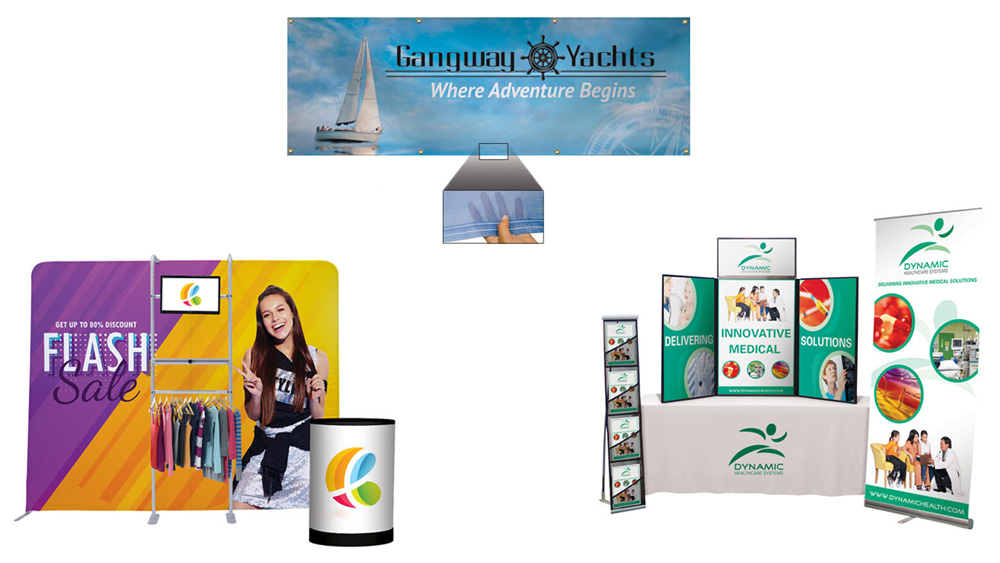 complete trade show materials