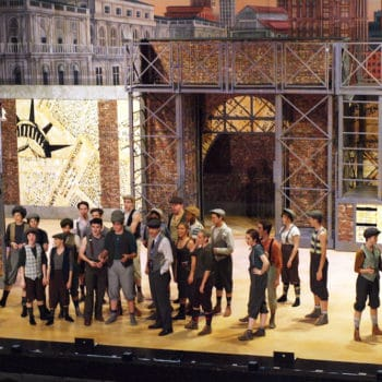 NEWSIES set and props