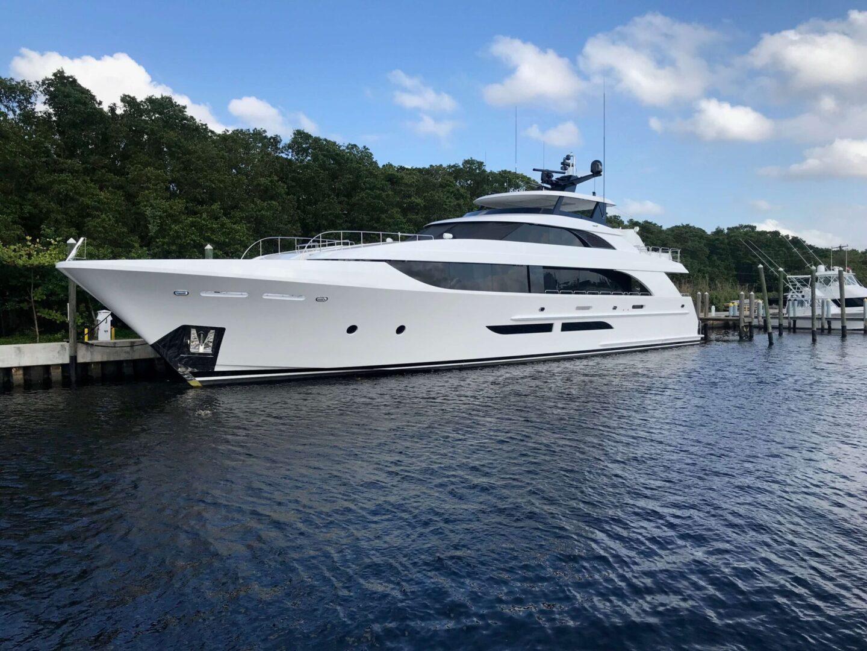 A high-end yacht