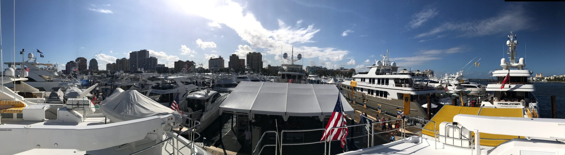 Boat Show Pano