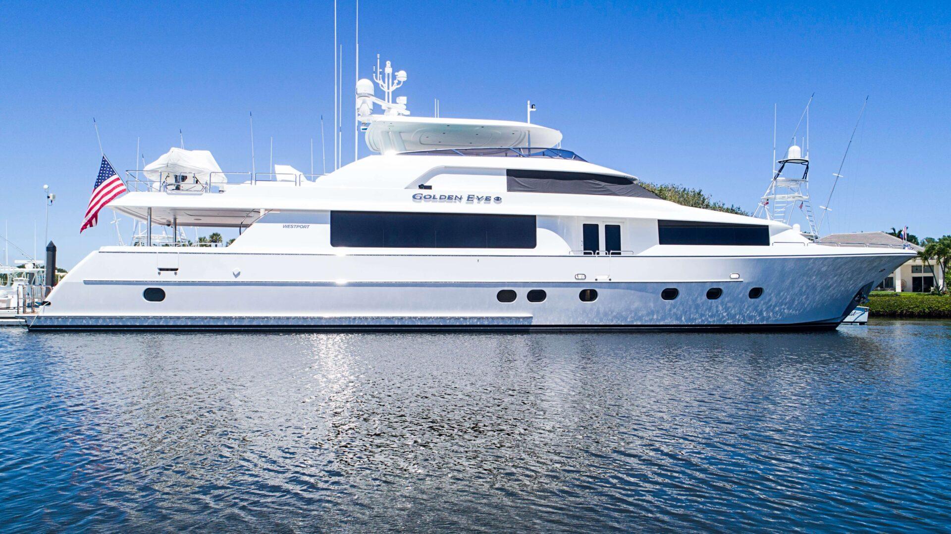 A Golden Eve yacht
