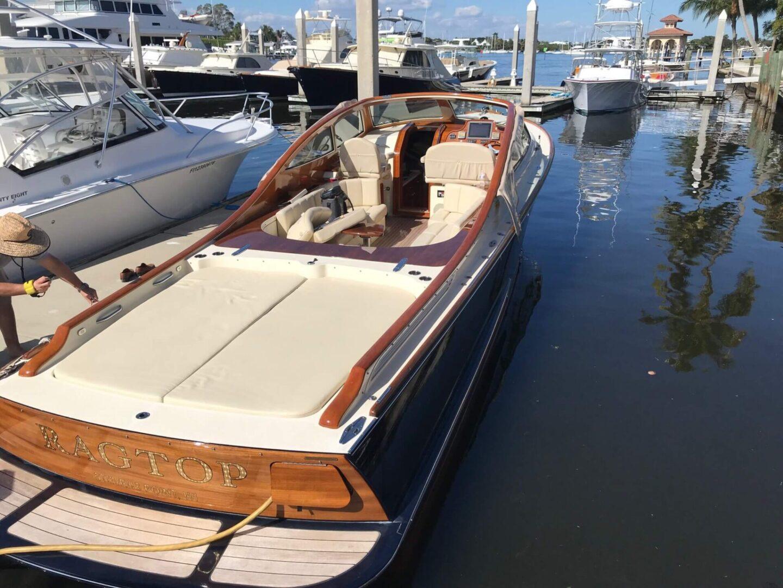 A Ragtop boat
