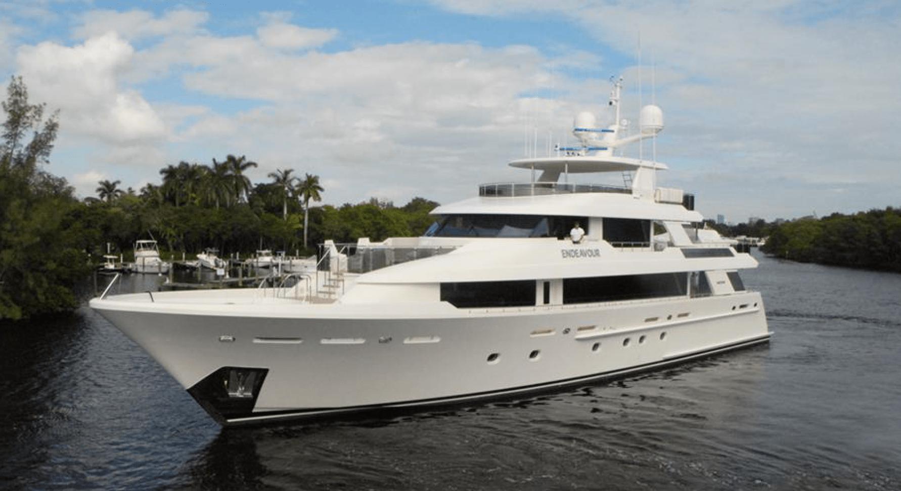 An Endeavour yacht