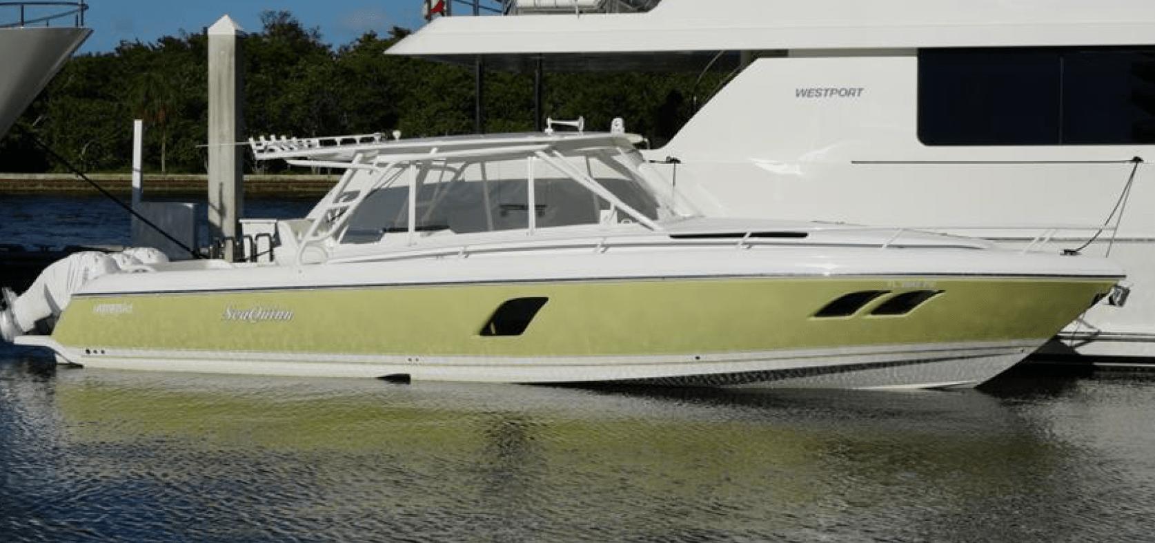 A Sea Quinn near other yachts