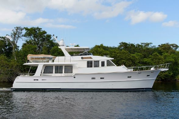 A Sweet Escapes yacht near mangroves