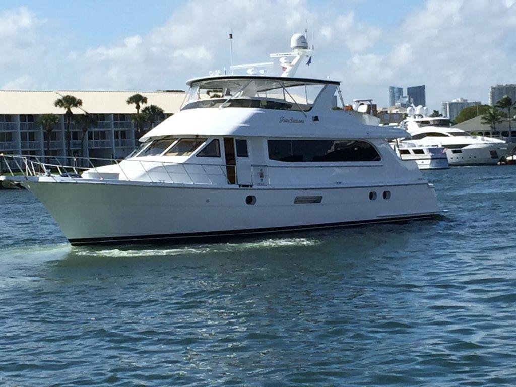 A Four Seasons yacht