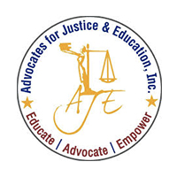 Advocates for Justice & Education Logo