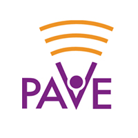 Parents Amplifying Voices in Education (PAVE) logo