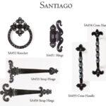 Doors handle design for Santiago
