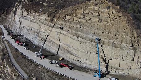 Paonia Reservoir Rockfall Mitigation Project