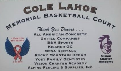 KGCI attends the Cole Lahoe Memorial Basketball Court Dedication